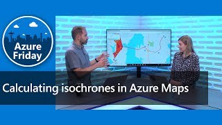 Calculating isochrones in Azure Maps
