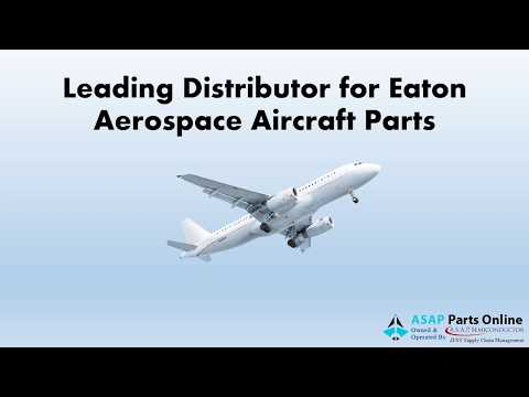 Eaton Aerospace Products | Aviation Distributor – ASAP Parts Online