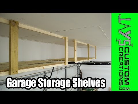 Garage Storage Shelves - 161