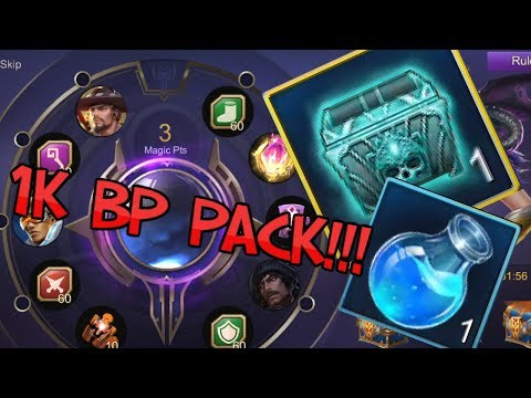 LUCKY BATTLE POINTS PACK MAGIC POTION
