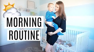 MORNING ROUTINE 2019 | PREGNANT MOM WITH A TODDLER