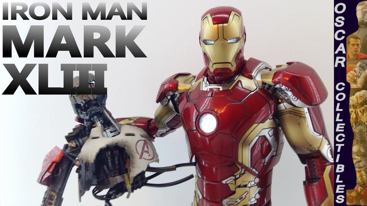 Обзор фигурки Железный Человек Марк 43 Мстители: Эра ...