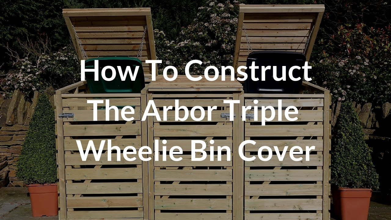 how to construct the arbor triple bin store
