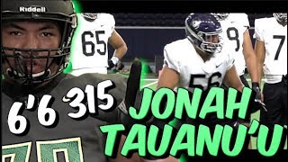 🔥🔥 6'6 315 OT | Jonah Tauanu'u  | House of *PANCAKES* | Narbonne H.S (CA) Nike Opening Spotlight