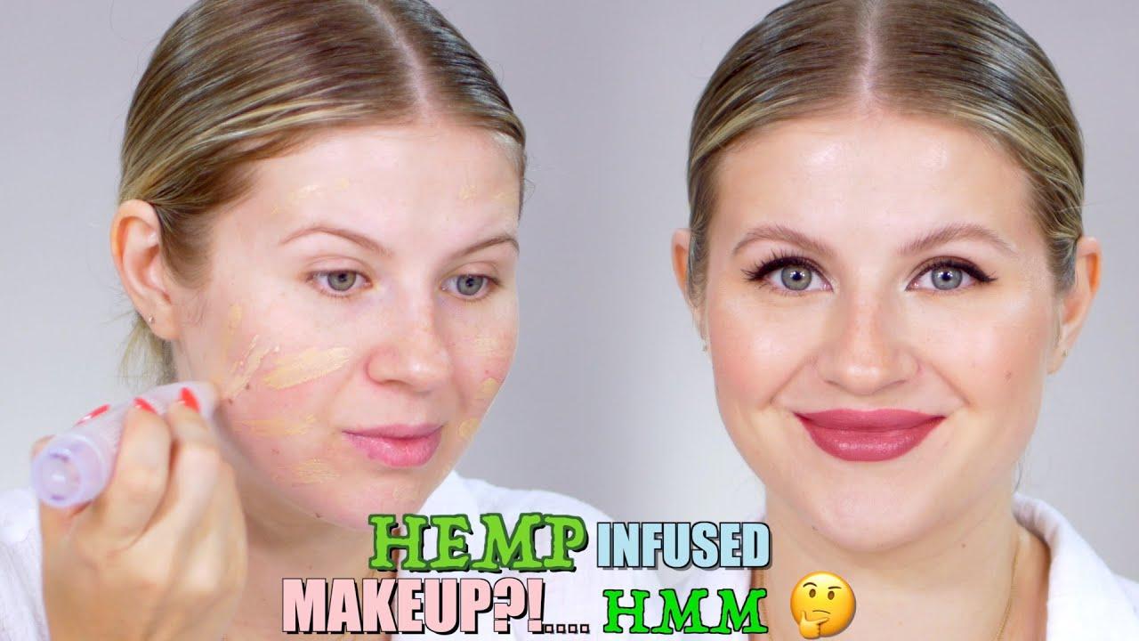 Hemp Infused Makeup?! Hmm...