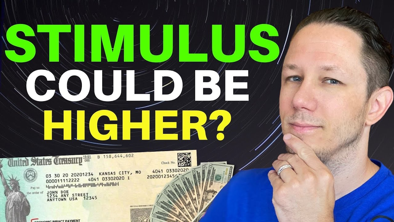STIMULUS MONEY COMING! But Could Be Larger? Second Stimulus Check Update!