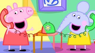 Peppa Pig Full Episodes | Edmond Elephant's Birthday | Cartoons for Children