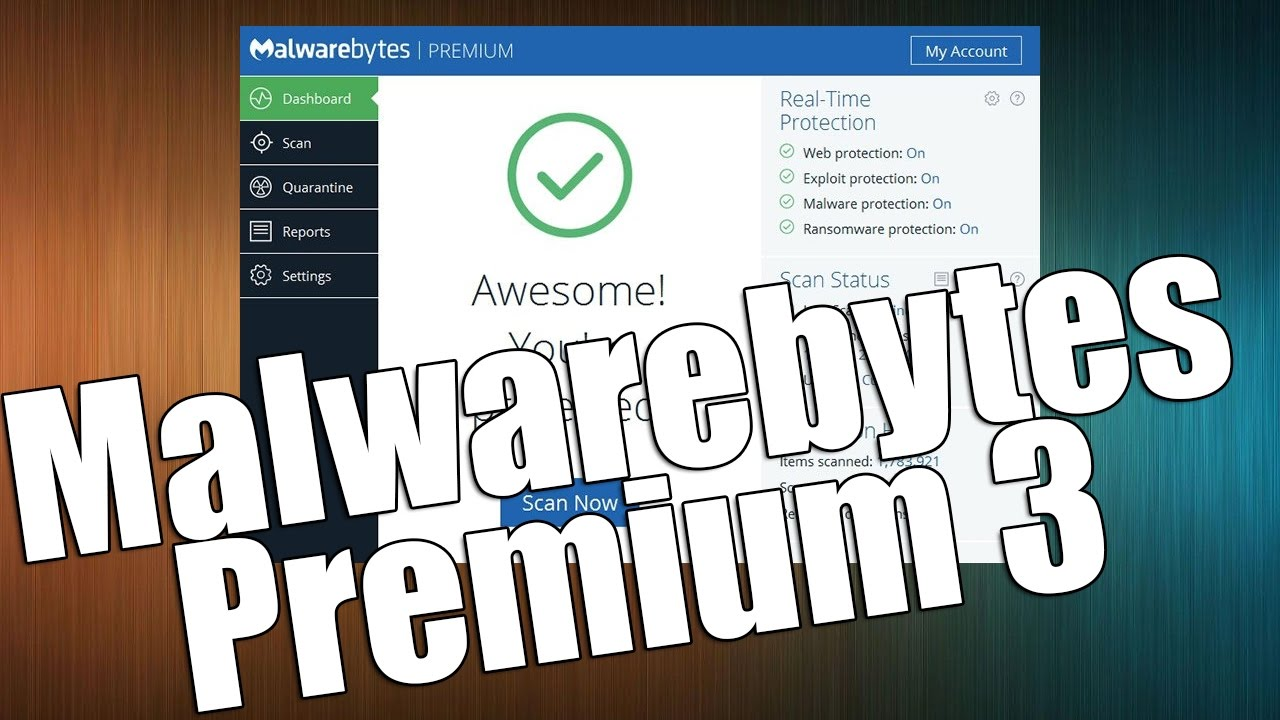 malwarebytes anti-malware premium 3.0 - 3 pcs