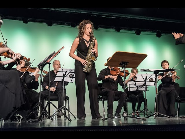 SILVIA SANAGUSTÍN - FINAL ROUND - IV ANDORRA INTERNATIONAL SAXOPHONE COMPETITION 2017