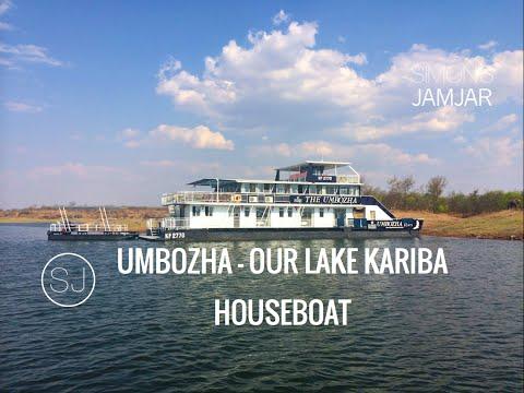UMBOZHA - OUR LAKE KARIBA HOUSEBOAT - ZIMBABWE