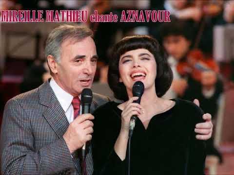 Mireille Mathieu chante AZNAVOUR