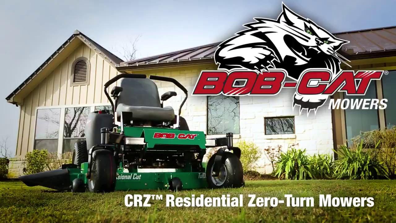 CRZ™ | Zero-Turn Mower | BOB-CAT® Turf