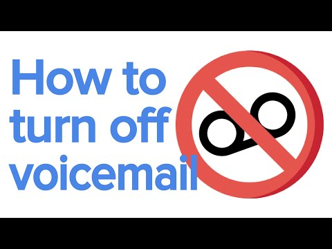 How to turn off voicemail