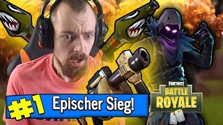 EPISCHER SIEG - Hochexplosiv GEGEN SQUAD! Fortnite Battle Royale Gameplay Deutsch | EgoWhity