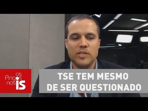 Felipe: TSE Tem Mesmo De Ser Questionado Sobre Voto Impresso