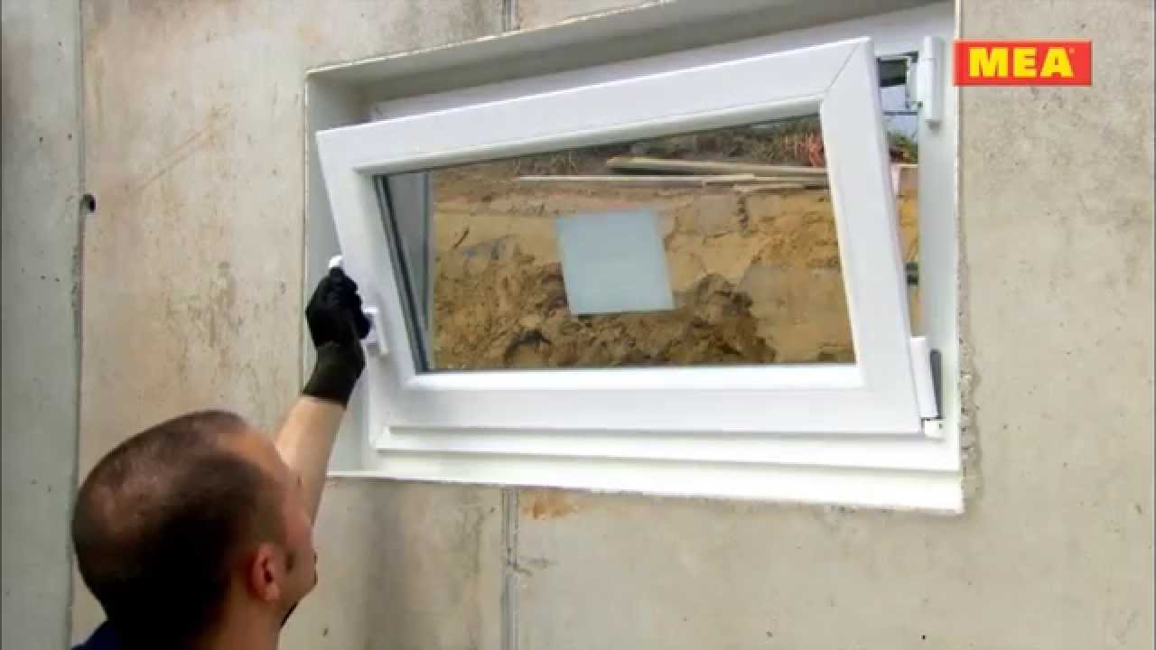 mea reliable installation of window, insulation, reveal and light