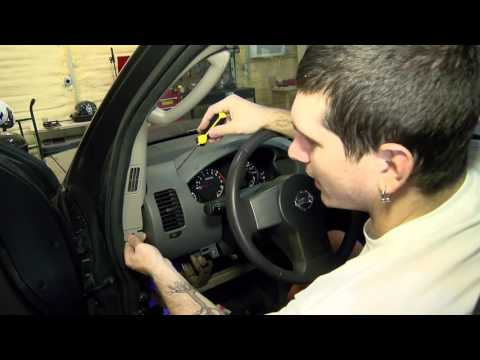 How To Remove The Instrument Cluster In A Nissan Xterra