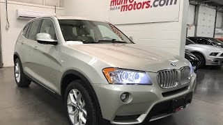 2013 BMW X drive  SOLD SOLD SOLD X3 2.8 xDrive28i Panoramic and Premium PKG