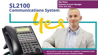 NEC SL2100 Business Phone System for Small and Medium Businesses in Australia