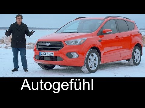 Ford Kuga/Escape ST & Vignale Facelift FULL REVIEW test driven new neu 2018/2017 - Autogefühl