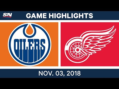NHL Highlights | Oilers vs. Red Wings – Nov. 3, 2018