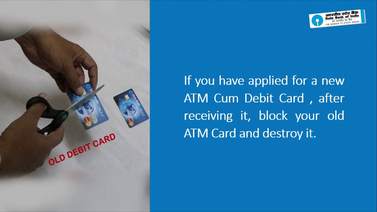 SBI: ATM Cum Debit Card Security (Video Created as on January 2017 ...