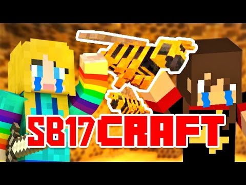 ATTACK OF THE NETHER BEES! | SB17Craft Ep 4