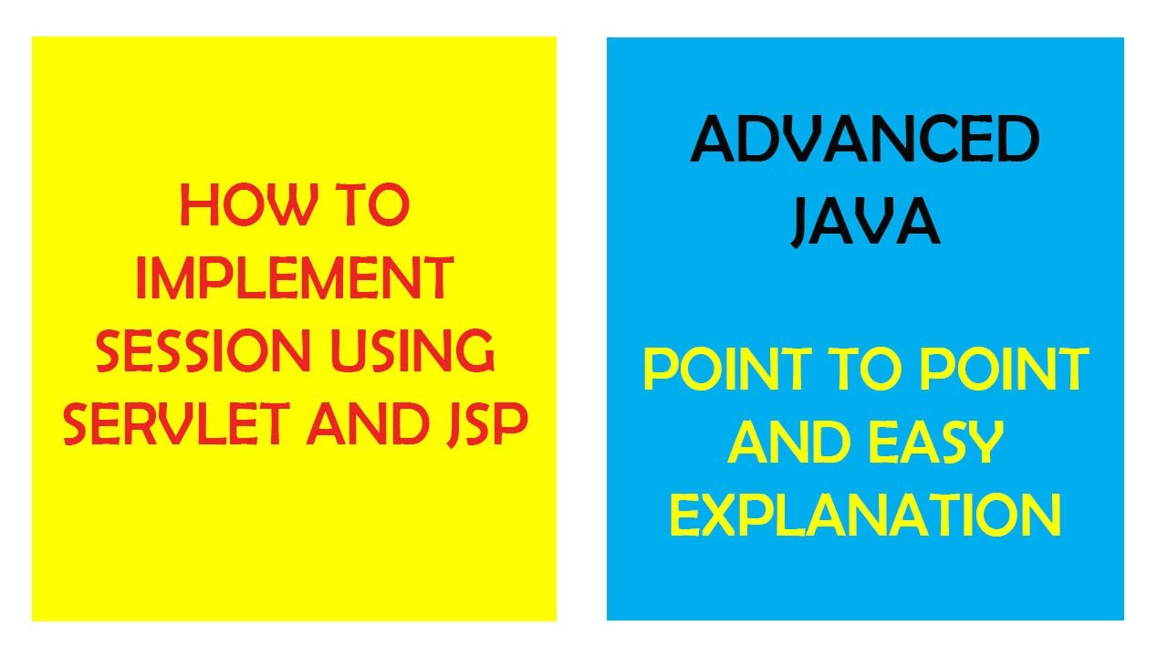 How to implement session using servlet || Advanced JAVA