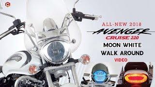 Avenger Cruise 220  White Color 2018 Walk around | Price and Mileage | Happy Journey