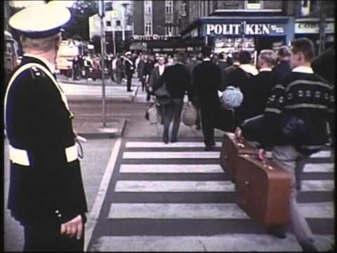 Ankomst - Landsstævne 1966 i Århus