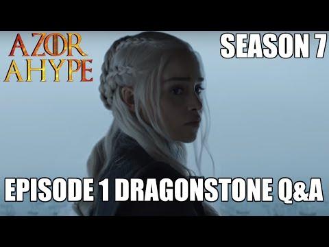Game of Thrones Season 7 Episode 1 Dragonstone Live Q&A