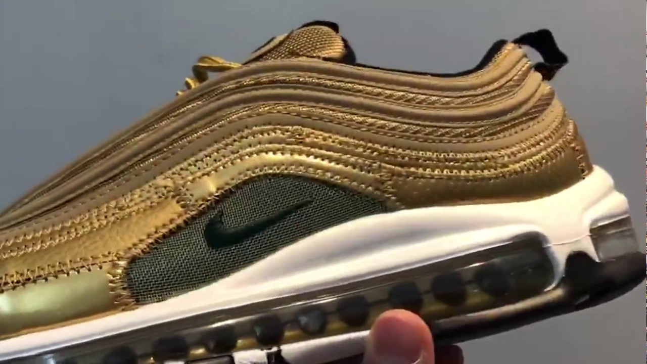 ad0333d2faee75 Nike Air Max 97 CR7 Golden Patchwork Goodsale.org - YouTube