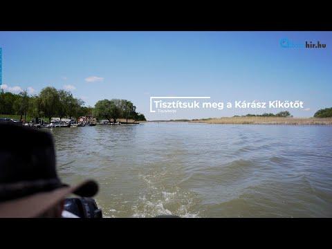 Önkéntes szemétszedés - Tisztítsuk meg együtt a Kárász Kikötőt | Alföldhír.hu