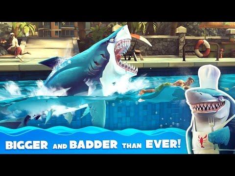 Hungry Shark World БЕШЕННАЯ АКУЛА Android Gameplay Video ► МОБИЛЬНЫЕ ИГРЫ МОИ ИГРЫ НА ПЛАНШЕТЕ