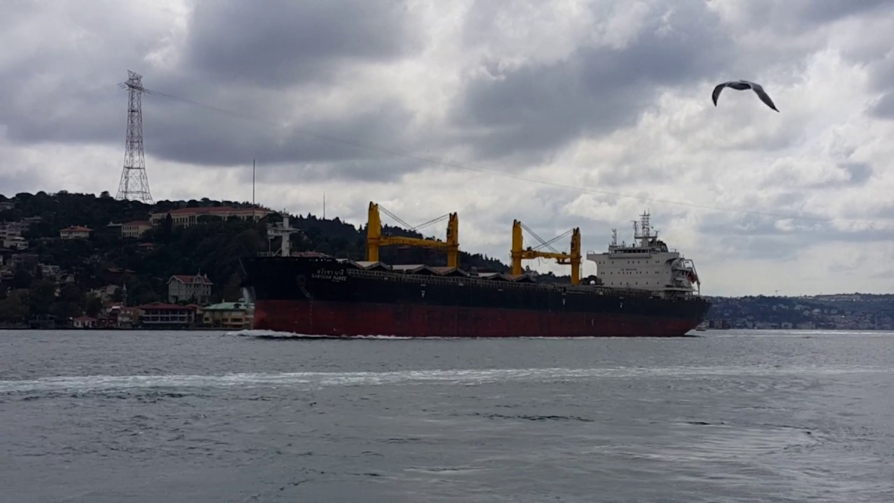 Download M/V Sarocha Naree crossing Bosphorus Strait 28.09.2018