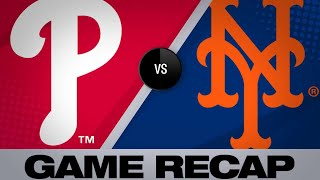 4/22/19: McNeil, Matz lead Mets over Phillies