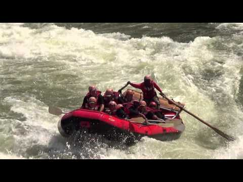Zambezi River Rafting August 2013
