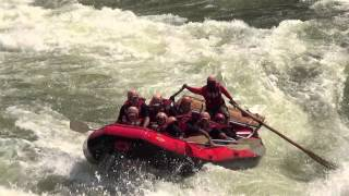 Zambezi River Rafting August 2013