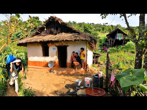 Download Unseen Beautiful Nepal Mountain Village the Simple Lifestyles |Primitive Life of Rural Nepal Village