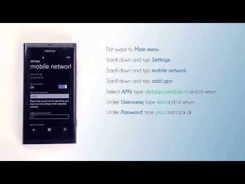 Lycamobile NL - Mobile Data Settings For Your Nokia