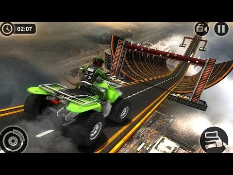 Racing Quad Bike Stunts Game #Bike Racing Games Play Online #Video Games For Android #Games Download