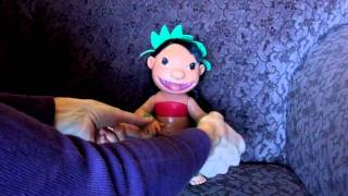 DISNEY MUSICAL HULA DANCING LILO DOLL FROM THE MOVIE LILO & STITCH