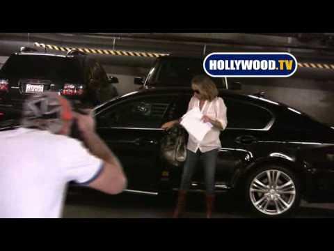 Hayden Panettiere Makes A Meeting In Santa Monica