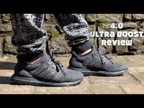 6cc945a627a Adidas Ultra Boost 4.0 Triple Black Unboxing   On Feet Review