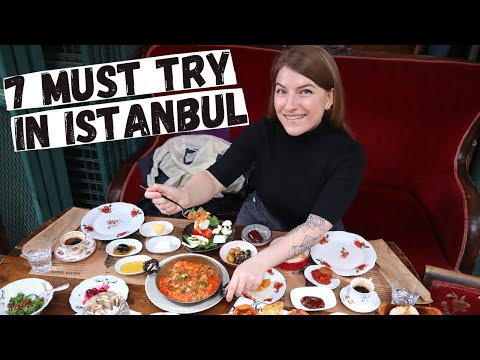 7 MUST TRY FOODS IN İSTANBUL, TURKEY! 🇹🇷 | INSANE Street Food Tour 2021| What to eat in Istanbul?