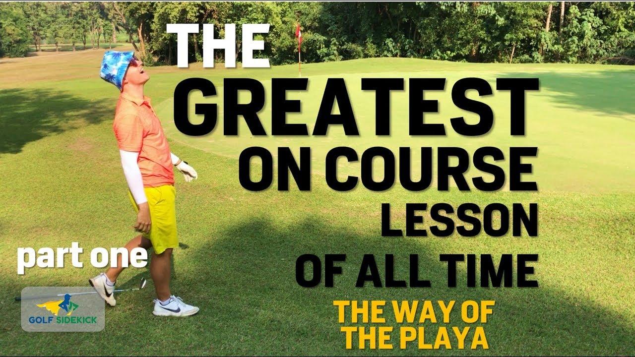 30b66e4b958d Uphill vs. Downhill Chipping - Golf Lesson - IMPACT SNAP - Golf ...