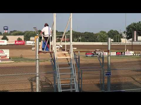 Practice at Independence Motor Speedway, 7-23-19