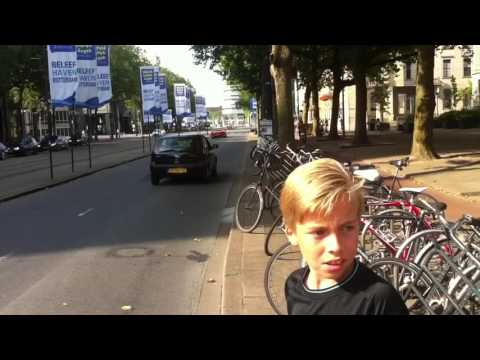 Super carspotting Rotterdam coolsingel Elia's car