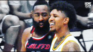 James Harden Vs. Nick Young! Drew League Playoffs - Marvin Bagley & Javale McGee Match Up