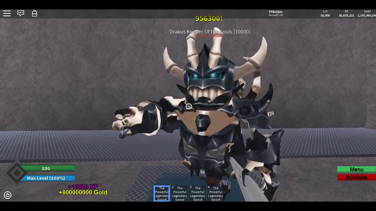 what happens at level 10000 in this last encounter rpg roblox